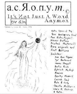 ACRONYM #6