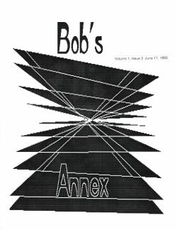 Bob's Annex #3