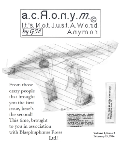 ACRONYM #2